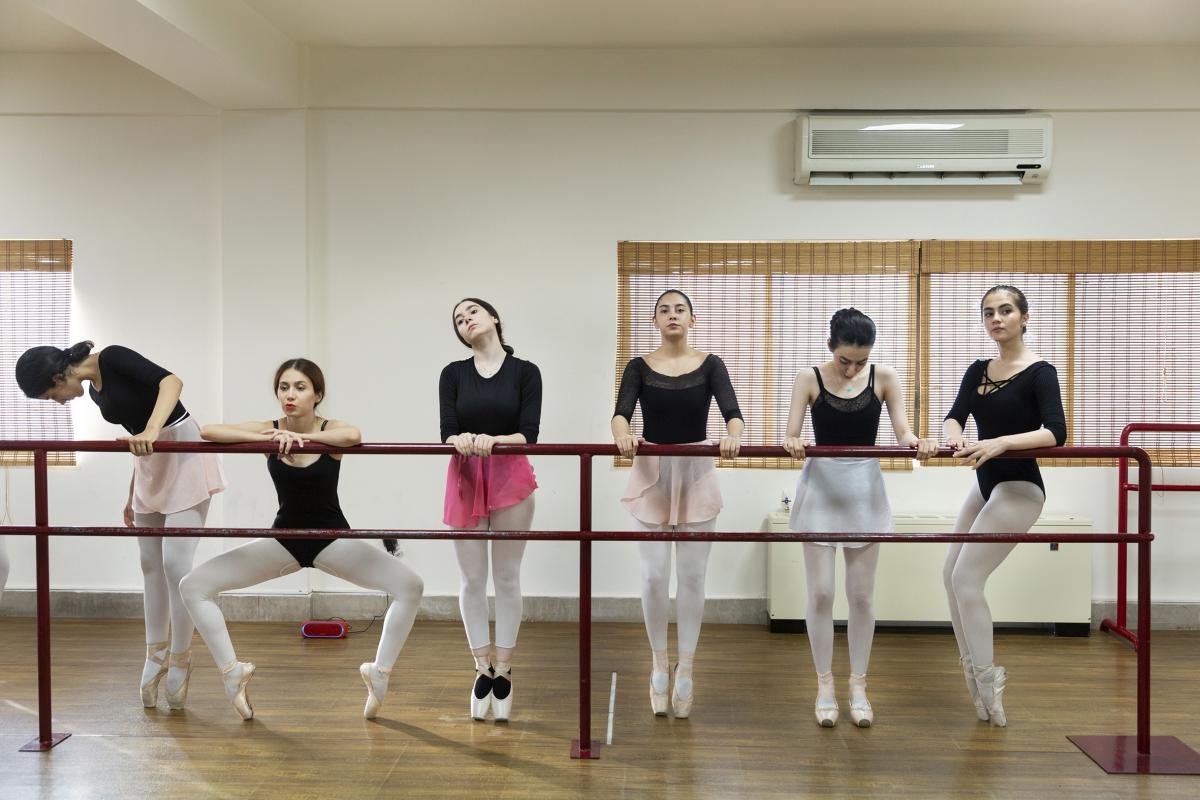 Ballett Tanzgruppe in Teheran